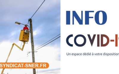 FLASH INFO SNER – COVID 19